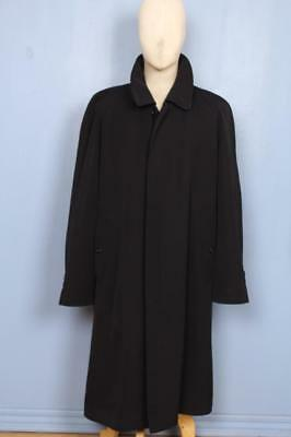 SUPERB Mens BURBERRY Single Breasted TRENCH Coat Mac Navy L/XL 44/46