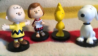 Peanuts Bobbleheads (set of 4) - Charlie Brown, Pep. Patty, Snoopy, Woodstock