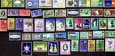 50 GILBERT & ELLIS ISLANDS All Different Stamps (ALL YEARS)  (C78)