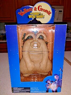 "New IN Box McFarlane Wallace & Gromit 10"" Curse of the Were Rabbit Figure 2005"