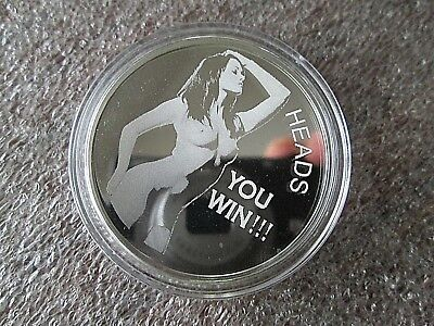 Cleopatra 2 Oz Silver Coin Round In Capsule Egyptian