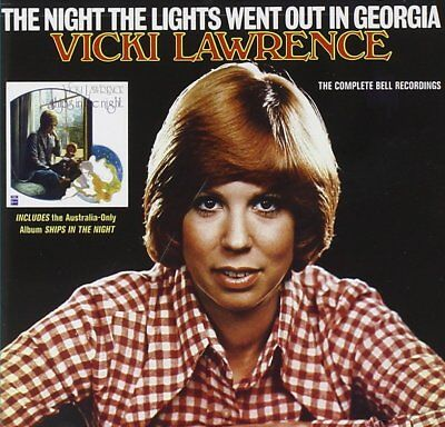 Vicki Lawrence The Night The Lights Went Out In Georgia New/Mint/Sealed Oop Cd!