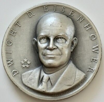 Medallic Art Co. Dwight D. Eisenhower 1953-1961 Presidential Silver Medal .999