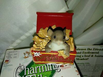 """Charming Tails """"I'M ANIMAL CRACKERS 4 YOU""""  89/334 FITZ & FLOYD"""