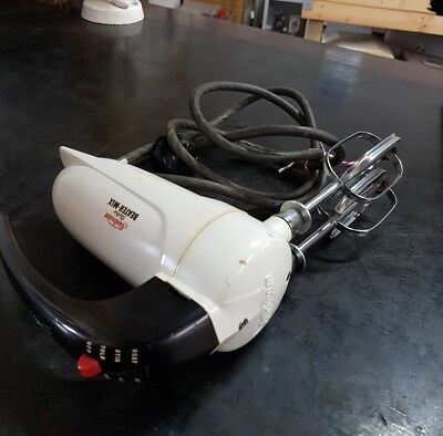Vintage Sunbeam Electric Beater Mix Hand Mixer Working