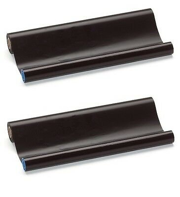 2x Fax Thermo Rolls Compatible Brother PC 72 RF PC72RF T72 T74 T76 T78