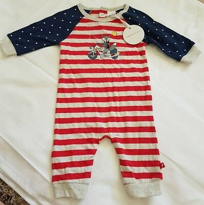 Gorgeous Boys Winter Body Fox & Finch Baby BNWT RRP $39.95 Size 00/6mths