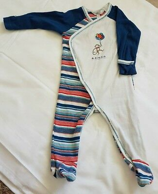 Gorgeous Boys Winter Body Suit Bebe by Minihaha Size 00/3-6mths