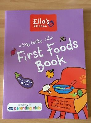 Ella's Kitchen:  A Tiny Taste of The First Foods Book