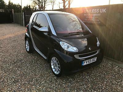 2009/59 Smart Fortwo 1.0 [71] Passion MHD Full Smart S/History NOW SOLD