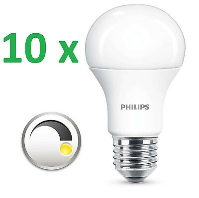 10 X Philips Led Lampe Corepro E27 Gluhbirne 11 75w Warm 2700k Led