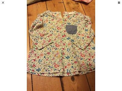 Next Baby Girl Floral Long Sleeved Top 3-6