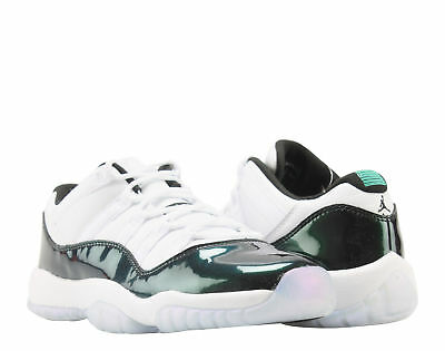 a653014f766 Nike Air Jordan 11 Retro Low BG Emerald Big Kids Basketball Shoes 528896-145
