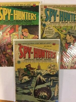 Spy-Hunters, Issue 10, 11, 14