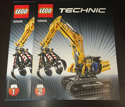 LEGO® Technic Bauanleitung - 42006 Raupenbagger - instructions only