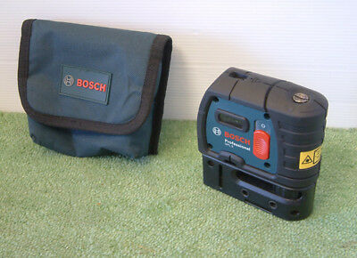 Bosch GPL 5 Professional Point Laser + Multifunctional Mount + Protective Bag