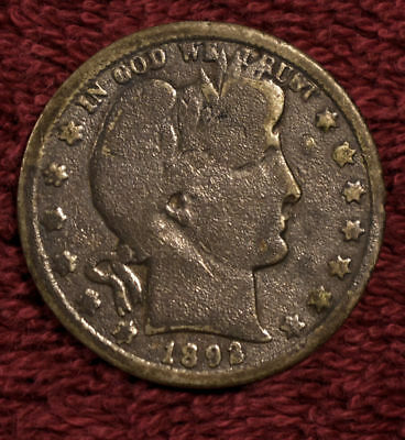 1892 S Barber Silver Half Dollar - A Damaged Key Coin!