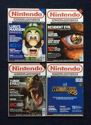 Issues 116, 117, 118, 119 of Nintendo Official Magazine