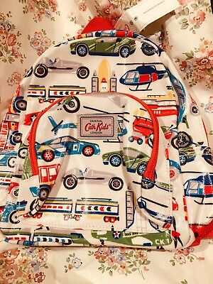 CATH KIDSTON BMWT Go Faster Kids Mini Backpack Oilcloth Wipe Clean.
