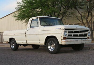 1967 Ford F-100 F100 Long bed 1967 Ford F100 AZ survivor long bed V8 stick awesome patina 90% rot free driver