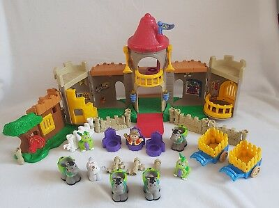 fisher price little people castle and robin hood hideout 8 50