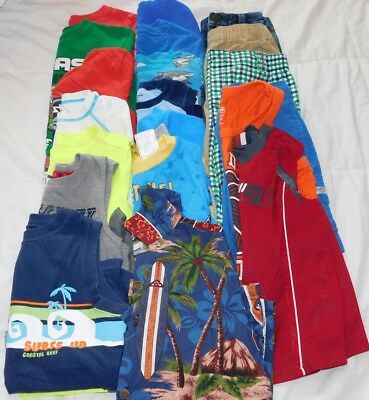 boys size 4t lot spring summer clothes used