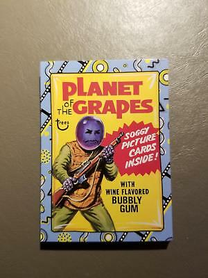 Classic Film Stickers 2018 Topps Wacky Packages Go to the Movies Set (20)
