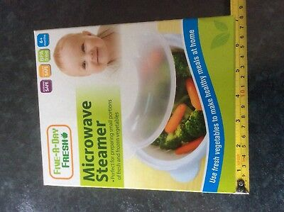 Microwave Food Steamer For Small Portions/Baby Food