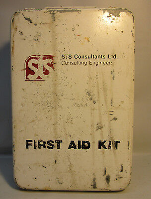 Vintage North Wall Mount Medical First Aid Kit