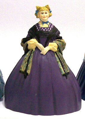 1990 Franklin Mint Gone with the Wind Figurine Statue - Aunt Pittypat