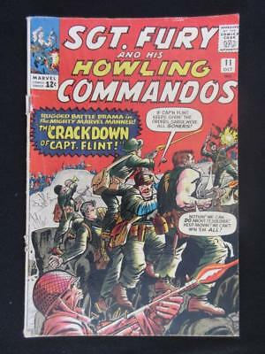 Sgt. Fury #11 MARVEL 1964 - howling commandos - Stan Lee, Dick Ayers silver age!