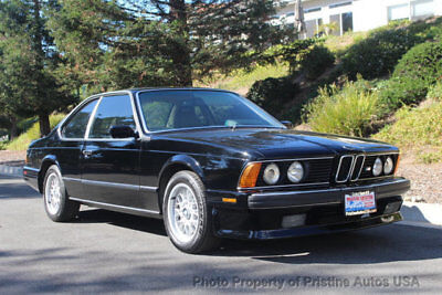 BMW M6  1988 BMW M6, looks and drives great, California car, minor restoration completed