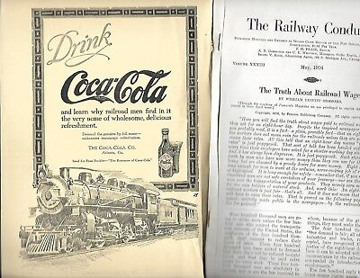 Rarer May 1916 The Railway Conductor Railroad Men Find Acme! Locomotive Intact!
