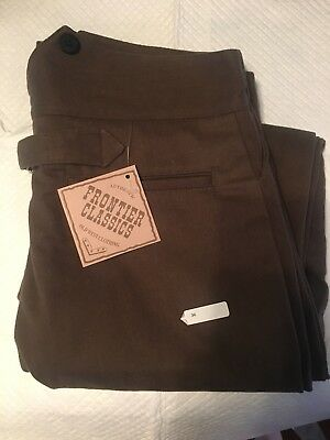 Frontier Classics  Button Up Brown Pants