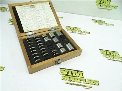 """Precision Space Block Gage Block Set 90% Complete .101"""" To 1"""" Japan"""