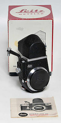Leitz, Leitz, Leica Visoflex Iii Reflex Housing, Next To New!