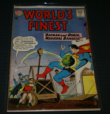 World's Finest Comic Book #132, DC Comics 1963 FINE OUT OF PRINT