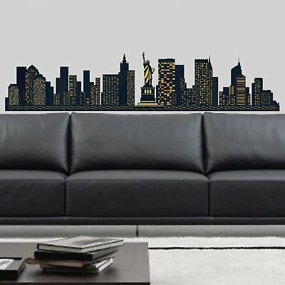 New York skyline Wall Stickers (J9h)