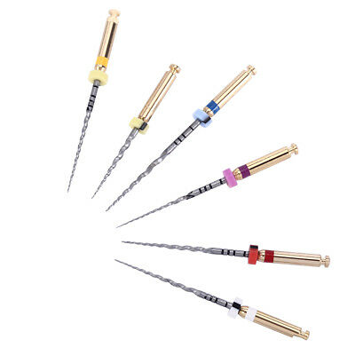 USA 3 Kits--Dental Endo NiTi Engine Use Super Rotary Files 25mm 6pcs/Kit