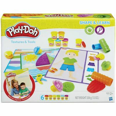 Play-Doh Textures and Tools Activity Set