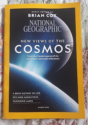 national geographic magazine, March 2018