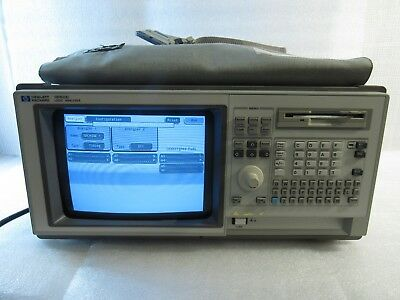 Hp Hewlett Packard 1660C Logic Analyzer Benchtop Oscilloscope 136-Chnl + Cables