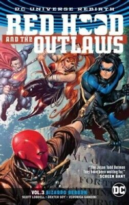 Red Hood And The Outlaws Vol. 3 Rebirth Vol Three & New Paperback Book