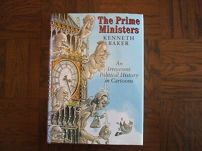 giles cartoon in The Prime Ministers by Kenneth Baker