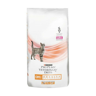 Croquettes Pro Plan Veterinary Diet OM St/Ox Obesity Management pour chats Sac 5