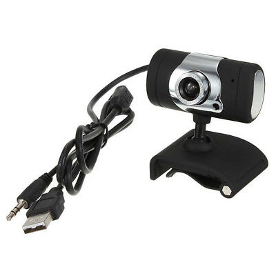 3.0 Mega Pixel USB with miniphone Webcam HD Camera for Notebook Laptop PC V8B R1