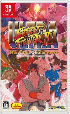 Ultra Street Fighter II: The Final Challengers (Nintendo Switch, 2017) Japanese