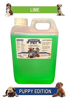 Fresh Pet Pet Disinfectant Cleaner Puppy Edition - 2L Lime