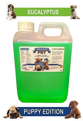 Fresh Pet Pet Disinfectant Cleaner Puppy Edition - 2L Mint Menthol Eucalyptus