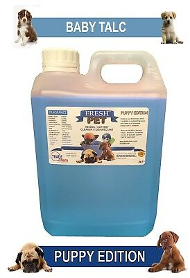 Fresh Pet Disinfectant Puppy Edition - 2L Baby Powder